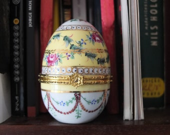 Handpainted Porcelain Egg Boxes - Price for one