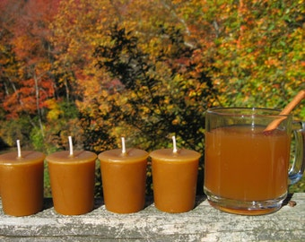 HOT APPLE CIDER (4 votives or 4-oz soy jar candle)