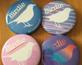 """Birdie - Bernie Sanders 2 1/4"""" button - 1 button"""