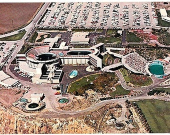 Vintage California Postcard - Aerial View of Marineland of the Pacific  (Unused)