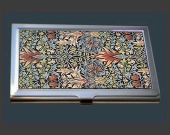 Business Card Case - Floral Wallpaper Design by William Morris (1834-1896)
