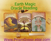 Tarot Reading Earth Magic Oracle Cards Tarot Psychic Reading  Pendulum Spiritual Guidance Via Email Same Day Fortune Telling 3 Card Spread