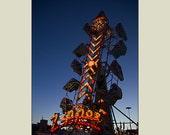 Zipper Carnival Fun Classic Ride 5x7 print with 8x10 mat