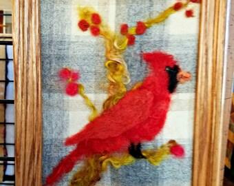 Cardinal & Berries