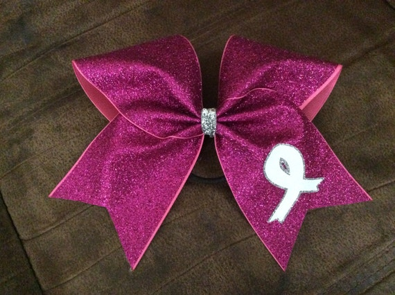 Breast cancer glitter tattoos