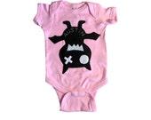 Keep Austin Weird! Onesie - We Love Texas! - Light Pink Infant Bodysuit