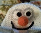 Disney Frozen Olaf Snowman hat Photo Prop