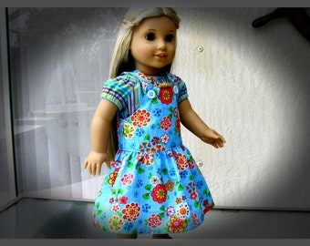 Julie's Summer Jumper and Peasant Top for 18 Inch Dolls, AMG