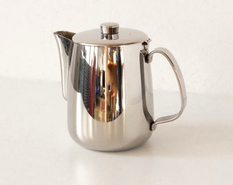 ALFRA (ALessi FRAtelli) Stainless steel teapot made in Italy.
