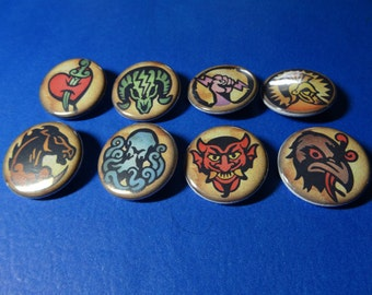 Vigors Pinback Button Set (or Magnets)
