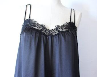 Vintage black camisole