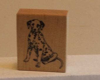 Dalmatian Dog PSX Rubber Stamp