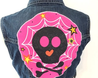 Vest Skull Denim Children