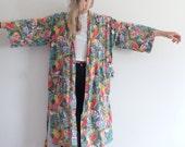 RESERVED Vintage Robe Lightweight Jacket