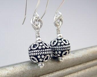 Nickel Free Earrings, Silver Gift, Sterling Silver Drop Earrings, Silver Dangle Earrings, Handmade Silver Earrings, Sterling Silver Jewelry