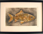 Dreamfish - Etching with Chin Collé