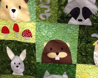 Woodland Critters Quilt