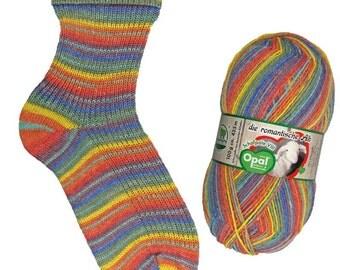 Opal Sock Yarn, 100g/465yd, Schafpate VIII, #9206