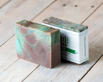 Green Fairy Soap | Absinthe Soap | Cinnamon Soap | Cold Process Soap | Handmade Soap | Homemade Soap | Artisan Soap