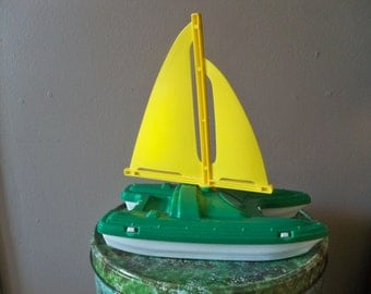 american plastic toy inc sailboat