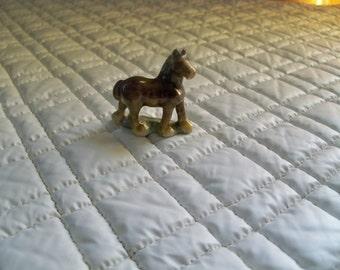 miniature porcelain horse  looking good