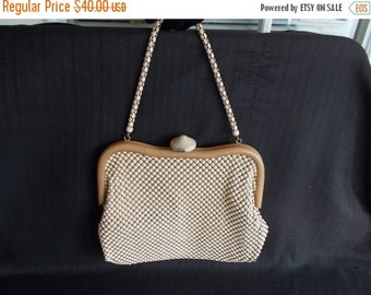 Vintage Whiting and Davis Alumesh handbag