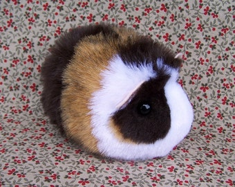 Two Custom Order Calico Toy Guinea Pig Handmade Plushies  RESERVED