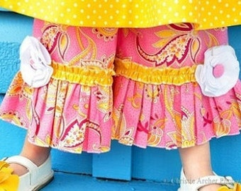 Ruffle Pants Boutique Custom Juvie Moon Designs PDF Download  Pattern  BRAYDIN