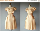 25% OFF SALE... Vintage 1950s Dress | 50s Dress | 50s Party Dress | 1950s Formal Dress