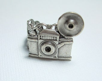 Camera Ring Silver, Travelers Flash Photography