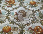 Thanksgiving Wedge Placemats Reversible Set of 4 or 6 Pumpkins and Turkey Wedge Placemats Fall Harvest Wedge Placemats for a round table