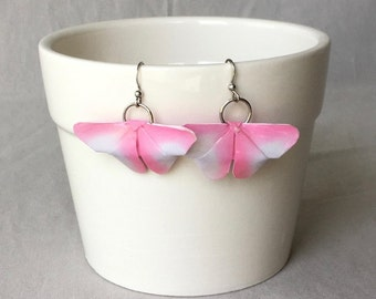 Pink & Purple Butterfly Earrings, Origami Butterfly, Birthday Gift, Butterfly Lover, Mother's Day Gift, Stocking Stuffers, Gifts for her