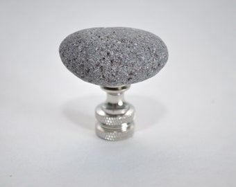 Lamp Finial - Simple Gray