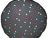 Pac Man Pouffe Foot Rest Floor Cushion Pouff