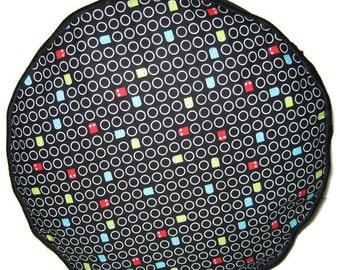 Pac Man Pouffe Foot Rest Floor Cushion Pouff