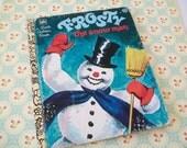 SALE - Frosty the Snowman Book, Golden Book, children, snow man, 1978
