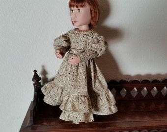 Regency Style Dress for 16 inch doll