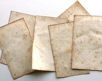 RESERVED Antique Papers 1832