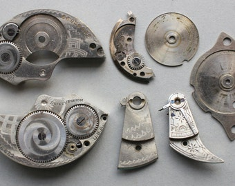 Vintage Pocket Watch Parts PW5