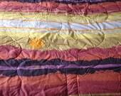 Vintage Marlborough Sunset Twin Bedspread Comforter