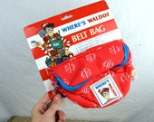 Vintage 90s Fanny Pack - Where's Waldo - New in Package