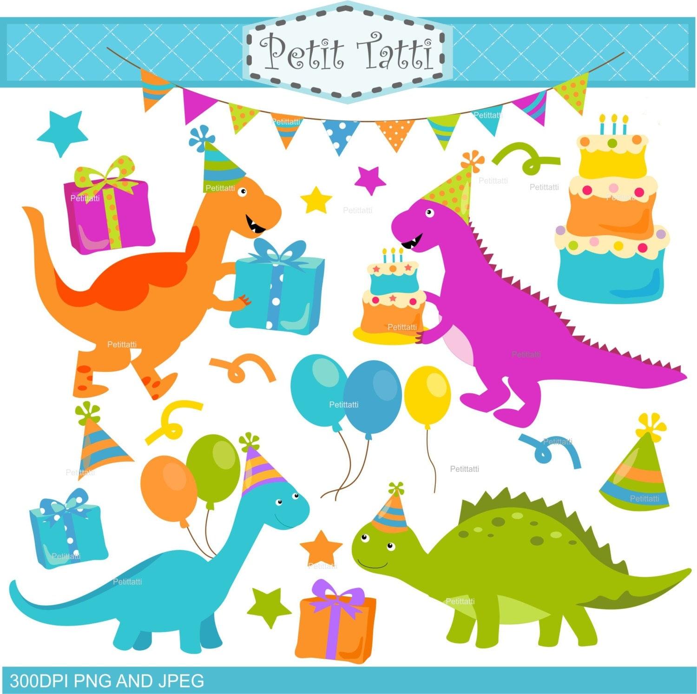 on sale dinosaur clip art birthday clipart digital clip