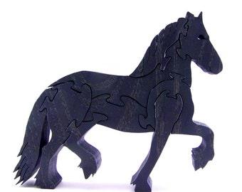 Frisian Horse Puzzle