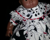Dalmatians Bitty Baby 15in Doll Dress