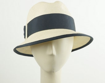 Summer Hat for Women, Panama Hat, Straw Fedora Hat, Womens Hat, Ladies Sun Hat, Womens Summer Hat, Womens Fedora, Womens Straw Hat