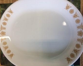 Corelle Butterfly Gold Serving Platter