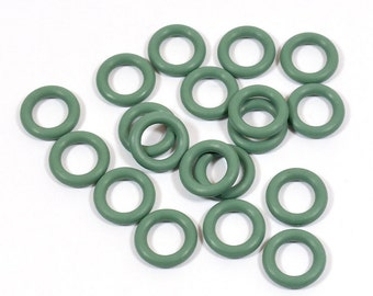 10mm Sage Rubber O-Rings