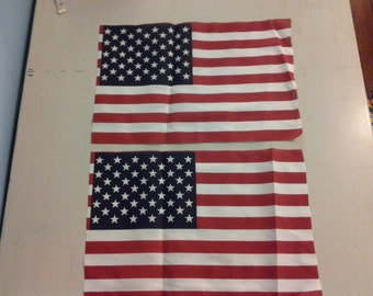fabric with US flag 244460