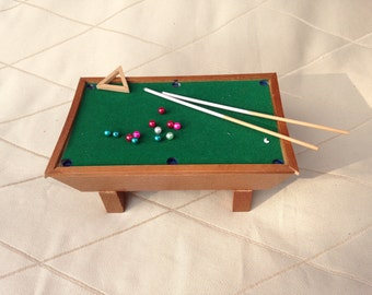 Dollhouse Pool table