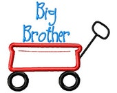 SAMPLE SALE ---BIG Brother Wagon Shirt -Free Personalization!!!
